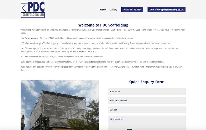 PDC Scaffolding Ltd